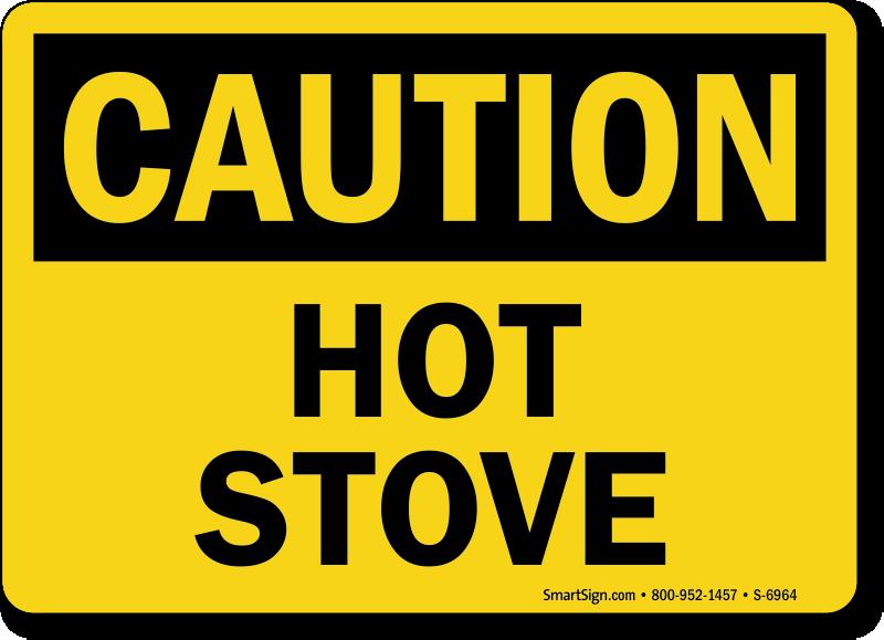 Hot Surface Signs & Hot Warning Signs