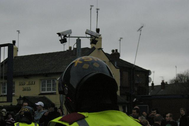 police surveillance with cameras