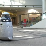 The Knightscope K5 robot could replace some security guards