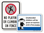 Pictogram Rules Signs