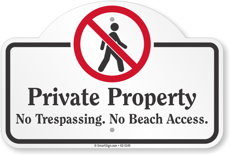 Private Property No Tresping