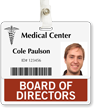 Medical Center Position Identity Card Badge Buddies