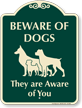 Beware Of Dogs SignatureSign