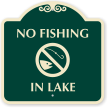 No Fishing SignatureSign
