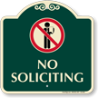 No Soliciting SignatureSign