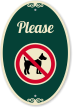 No Dogs Allowed SignatureSign