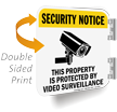 2-Sided Security Notice Sign