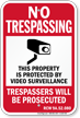 Washington No Trespassing Sign