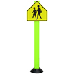 Crossing Sign with Fixed Base