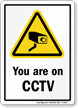 CCTV Surveillance Sign
