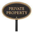 GardenBoss™ Oval Plaque with Stake